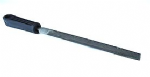 "Proops Brothers 6"" 150mm Second Cut Half Round Engineers File with Handle. F9946"